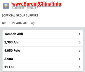 Group Facebook Borong Import China