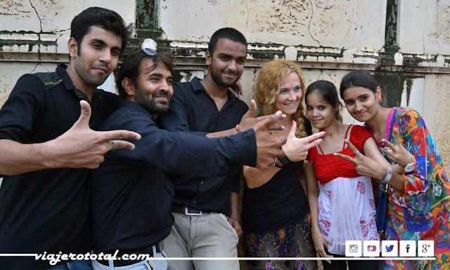 fuerte Kumbhalgarh fort selfie foto india
