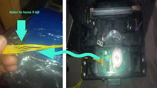 kabel laser canon ir 2870