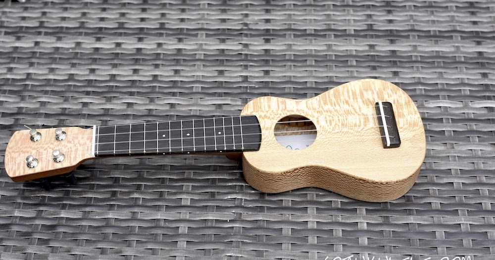 Andy's Ukuleles Lacewood Piccolo - REVIEW