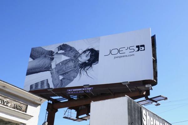 Joes Jeans Taylor Hill S18 billboard