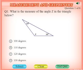 Найти третий угол в треугольнике. Тренажер
