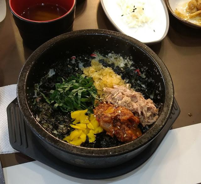 korea south corée du sud nourriture Albap 알밥