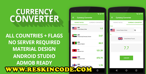 Currency Converter + Admob Ready V1.2