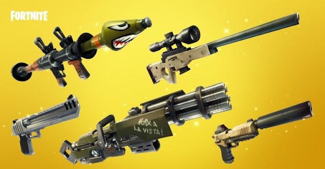 الإعلان عن طور جديد خاص بالأسلحة الذهبية في لعبة Fortnite Battle Royale و إليكم تفاصيله ...