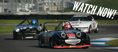Presented by Mazda, each of the 28 Runoffs class races will be broadcast live at SCCA.com.