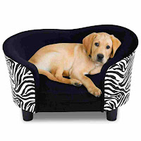 Giantex Pet Sofa Soft Warm Pet Dog Lounge Sofa