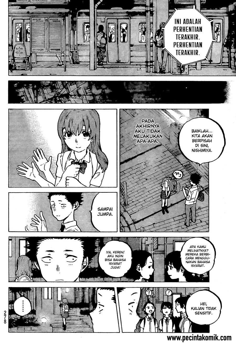 Koe no Katachi Chapter 16-7