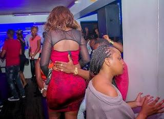 Senator Hon Joy Adhiambo Gwendo caused a drama at a popular joint in Nairobi.