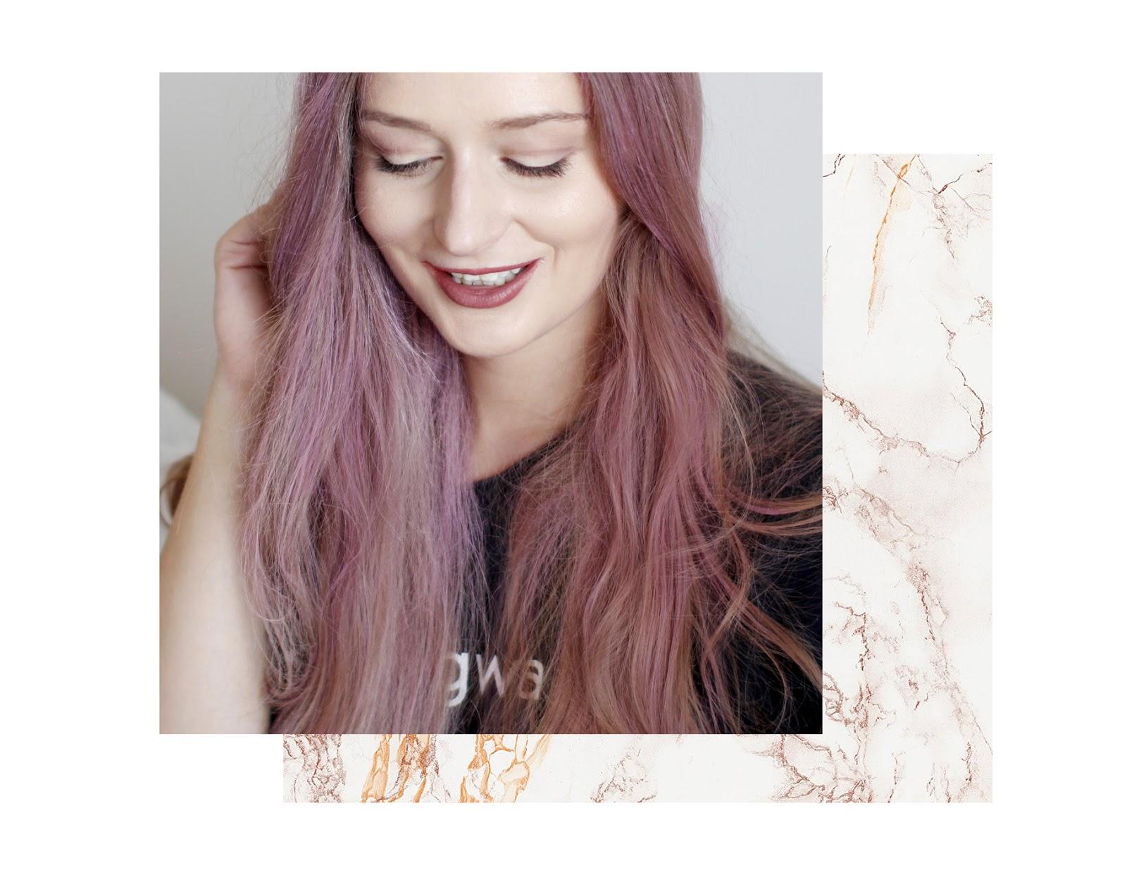 Różowe włosy w minutę!