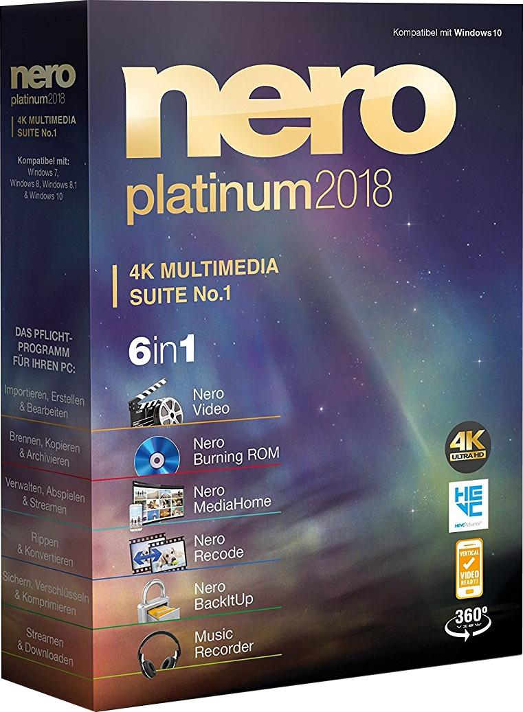 Nero Platinum 2018 Suite v19.0.10200 www.bajaqui.org