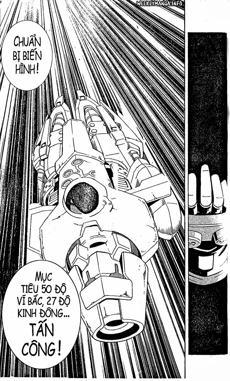 Shaman King [Vua pháp thuật] chap 195 trang 21