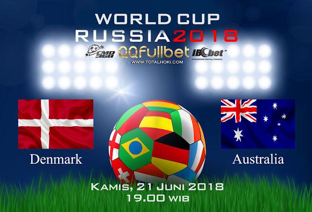 BOLA88 - PREDIKSI BOLA PIALA DUNIA : DENMARK VS AUSTRALIA 21 JUNI 2018 ( RUSSIA WORLD CUP 2018 )