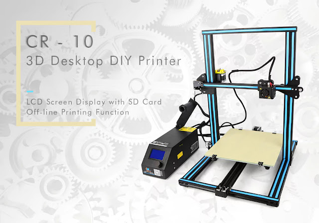 Coupon & Review Creality3D CR - 10 3D Printer