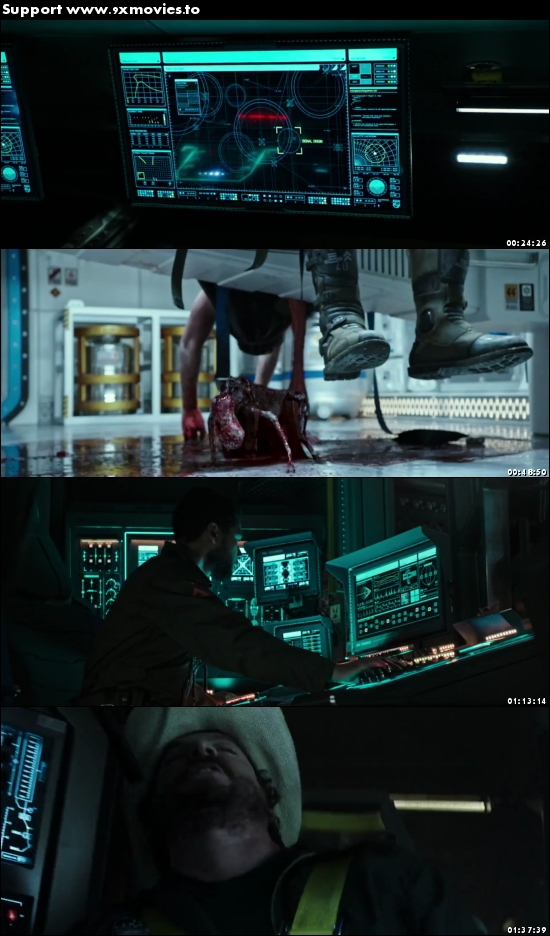 Alien Covenant 2017 Dual Audio Hindi 480p BluRay 350mb