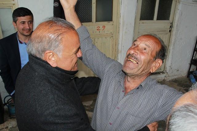 HDP eş başkan adayı Akmağara, Denizbacı ve Büyükhanda