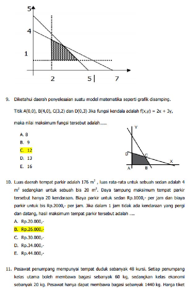 Soal Dan Jawaban Latihan Un Matematika Smk Akuntasi Tahun 2018 Serba Serbi Guru