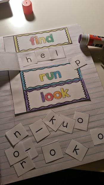 Sight Word Interactive Notebooks - Elementary Nest