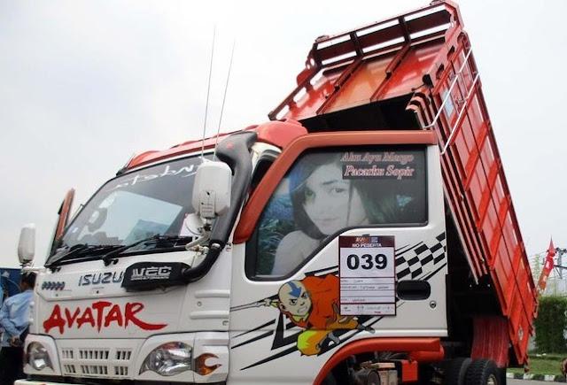 modifikasi mobil dam truk