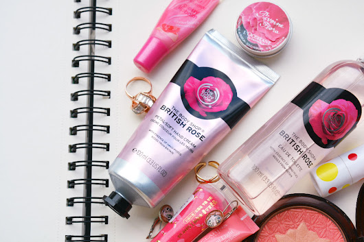 Крем для рук The Body Shop British Rose hand cream