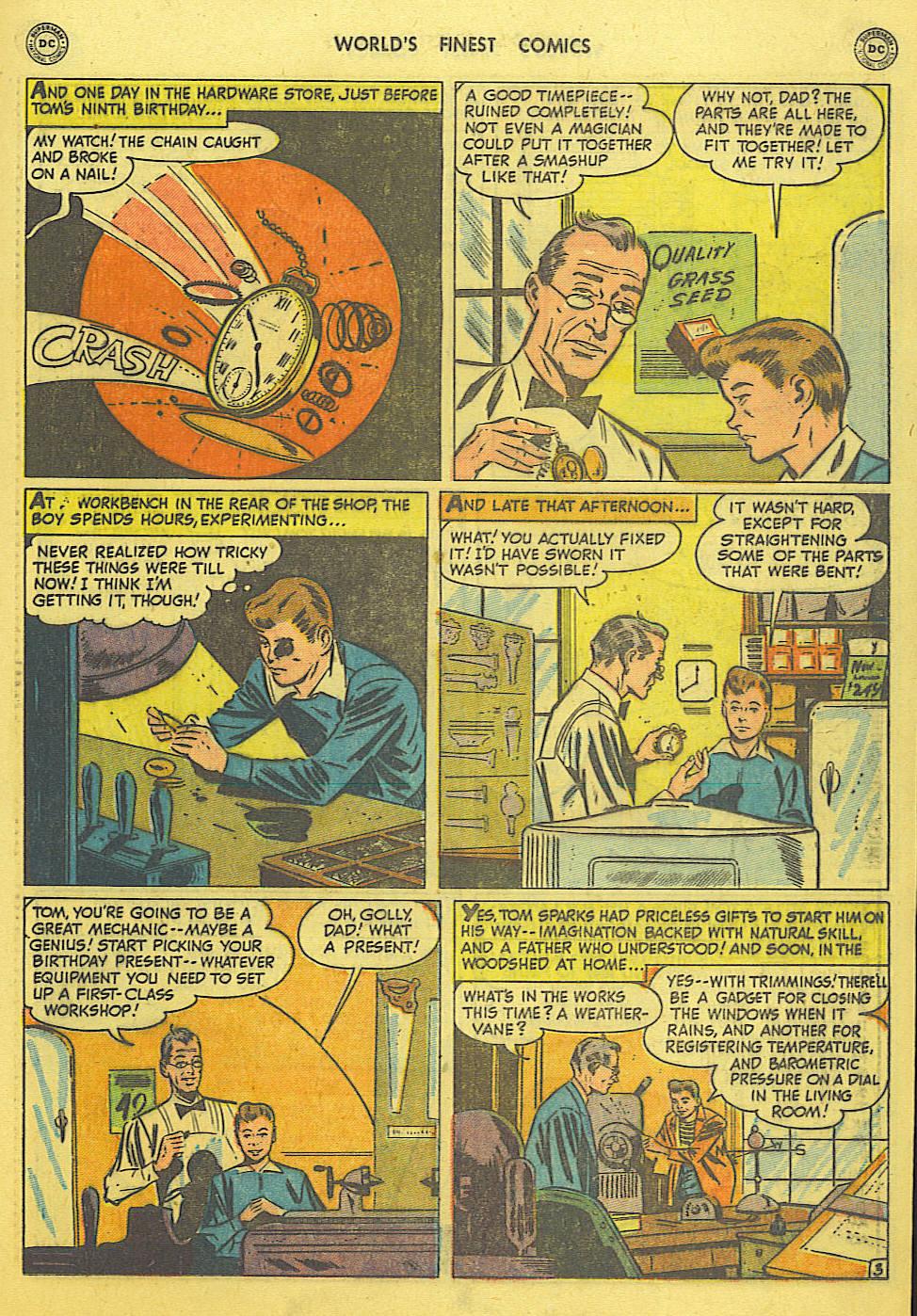Read online World's Finest Comics comic -  Issue #49 - 32
