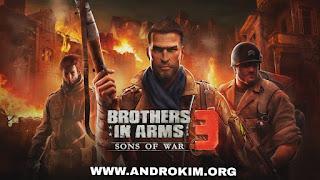 تحميل لعبة Brother Brothers in Arms 3 مهكرة للاندرويد آخر اصدار / Download BIA 3 Android v1.4.7c