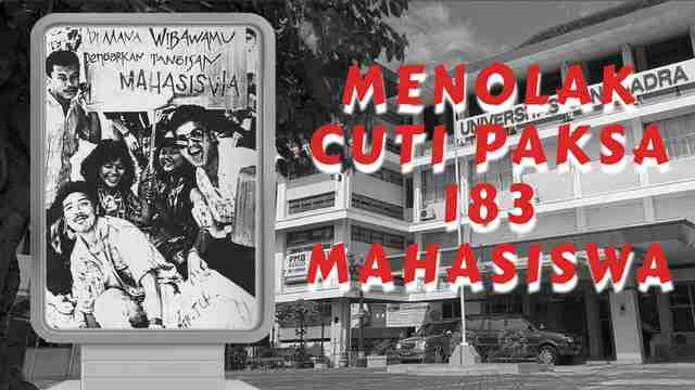 Menolak Cuti Paksa 183 Mahasiswa Universitas Janabadra