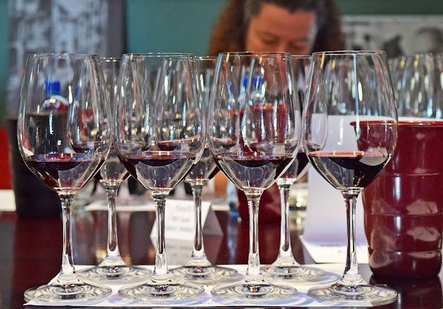 DSC 5307826 Vertical tasting of Simonsig Tiara Bordeaux style red blend and lunch at Cuvée