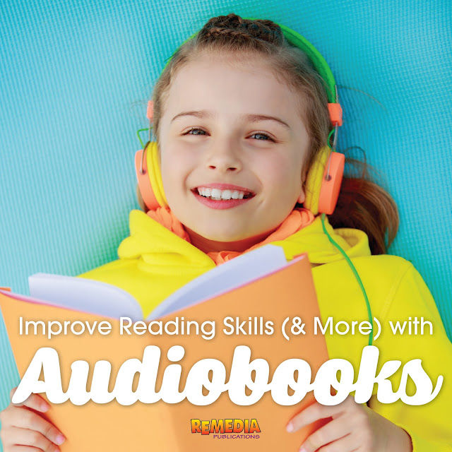 Improve Reading Skills (& More) with Audiobooks | Remedia Publications