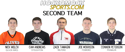HockomockSports Boys Basketball 2nd Team (HockomockSports photo)
