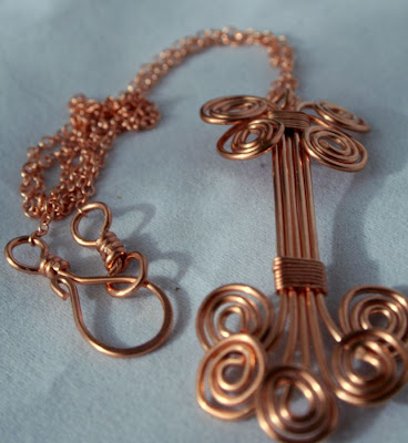 Anna (gracious): copper necklace :: All Pretty Things