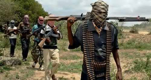 B'Haram terrorists kill five soldiers in Borno