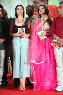 Geethanjali and Swetha Basu at Mixture Potlam Movie Audio Launch Feb 2017 001.JPG