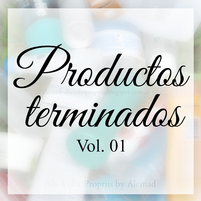 Productos Terminados Vol. 01