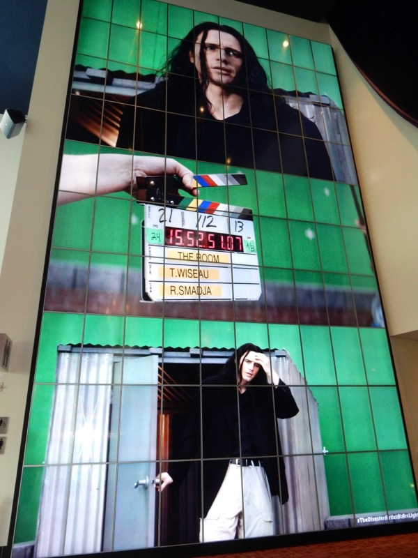 Disaster Artist movie poster wall ArcLight