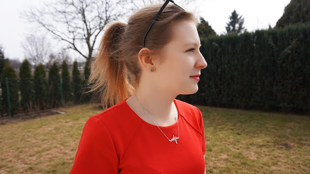 Wiosenna stylizacja | Red dress