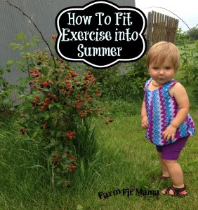 Country Fair Blog Party Blue Ribbon Winner:  7 Ways to Fit Exercise into Summer