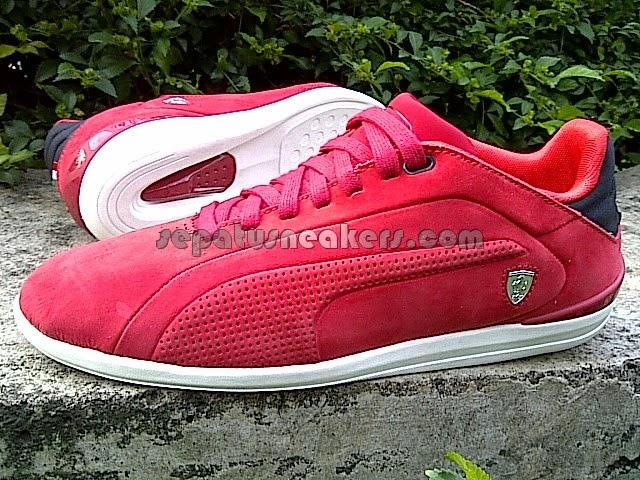 Puma Ferrari (new) Red Suede 305117 02   Toko Online Sepatu Sneakers ... 2754fd590d
