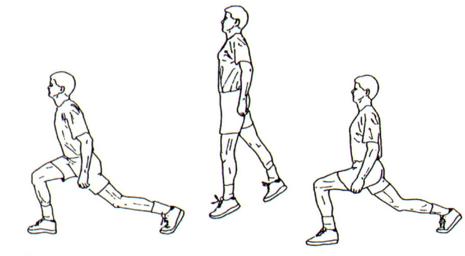 Evde Yapabileceğiniz Göbek Eritme Hareketleri - Jump Lunges
