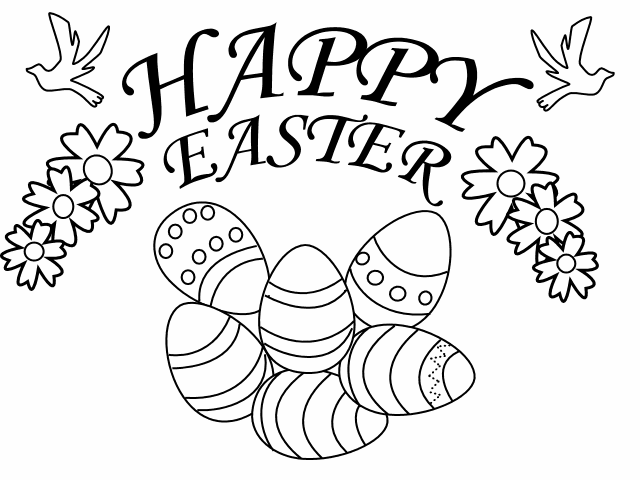school projects easter coloring pages - photo #45