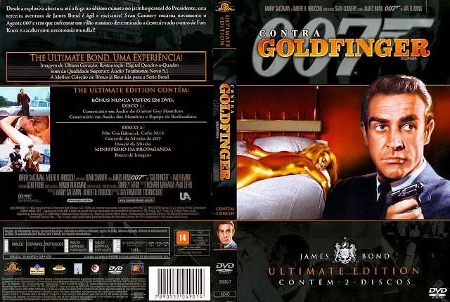 Capa DVD 007 Contra Goldfinger