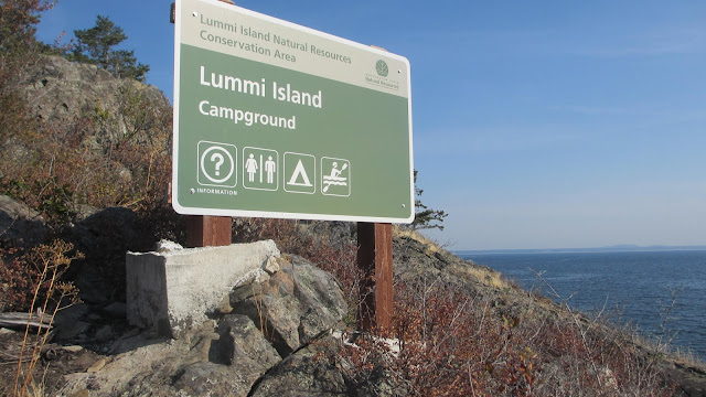 Lummi Island kayak campground