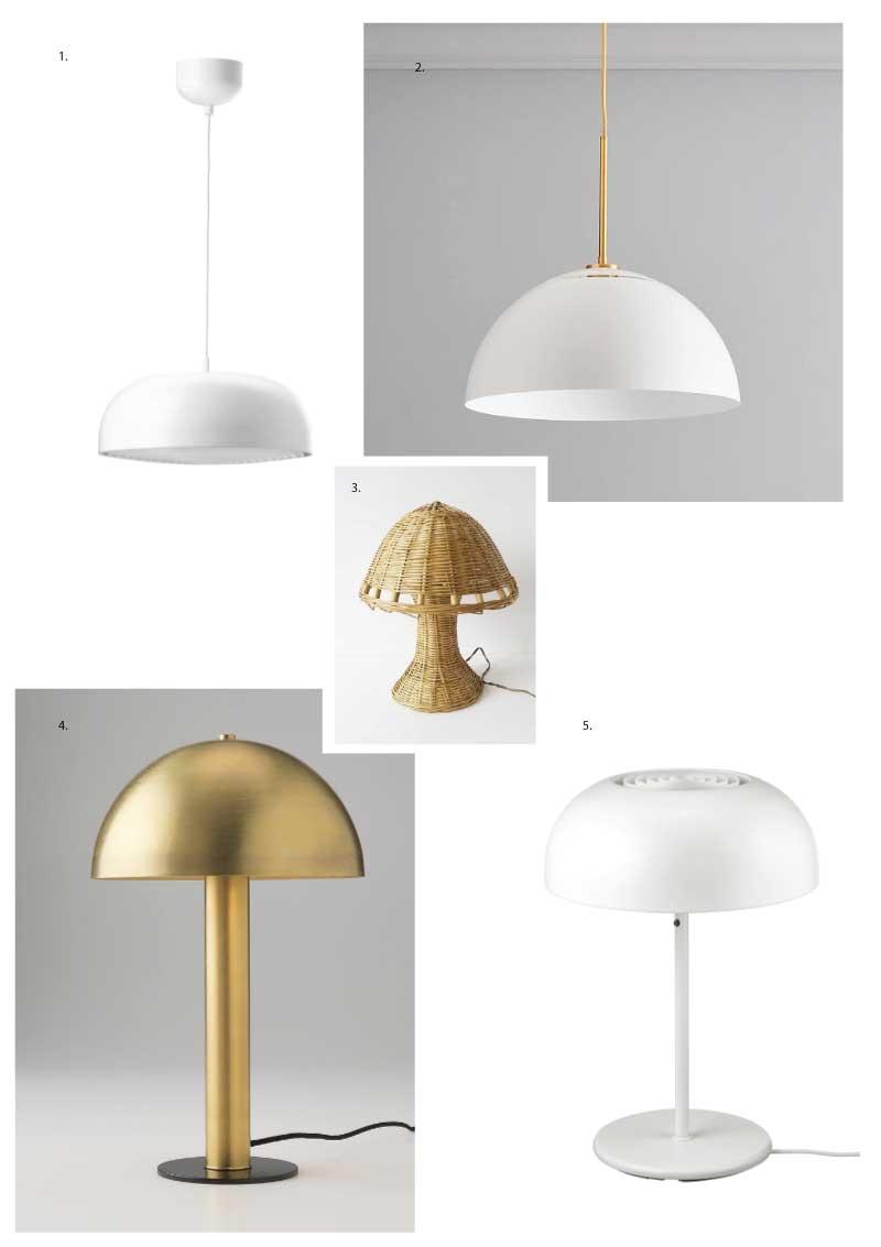 On The Radar Mushroom Lamps Poppytalk
