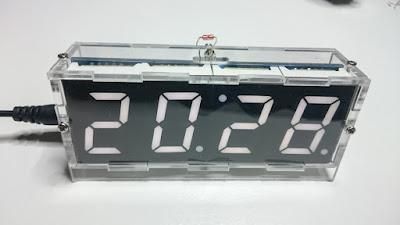 OH2DD Radioamatöörin hamsack kello - elektroniikka DIY projekti