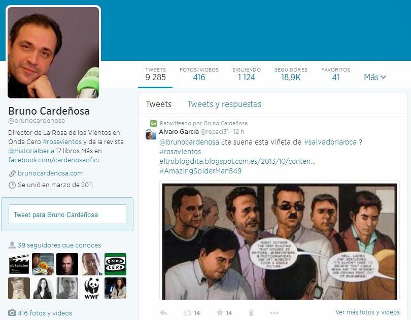 El Troblogdita Salvador Larroca En La Rosa De Los Vientos Twitter
