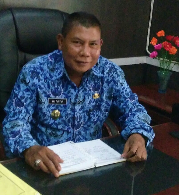 Kepala Dinas Koperasi dan Perdagangan Kabupaten Asahan  drs H Witoyo.