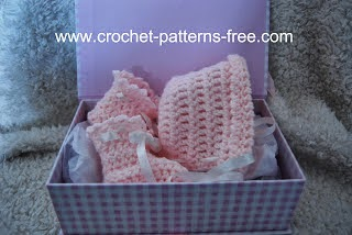 free baby bonnet crochet pattern free baby booties crochet patterns