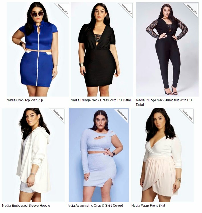 323fa50d571 I lust over many items on Boohoo and I can only hope (and pray!) that one  day they extend their collection to be more suitable to me and people my  size.