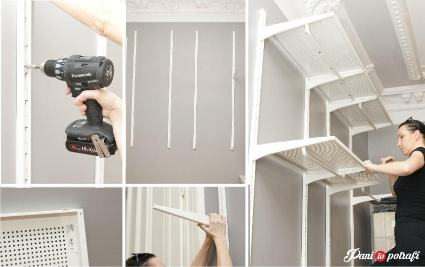 garderoba z IKEA
