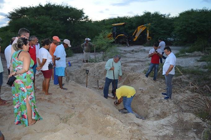 Prefeitura conclui obra da adutora que levará água para a comunidade de Alagamar
